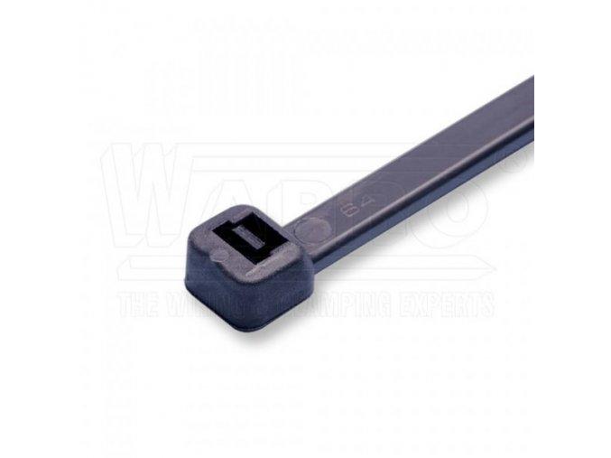 Kabelbinder, 203 x 3,6 mm, 100 Stück, schwarz