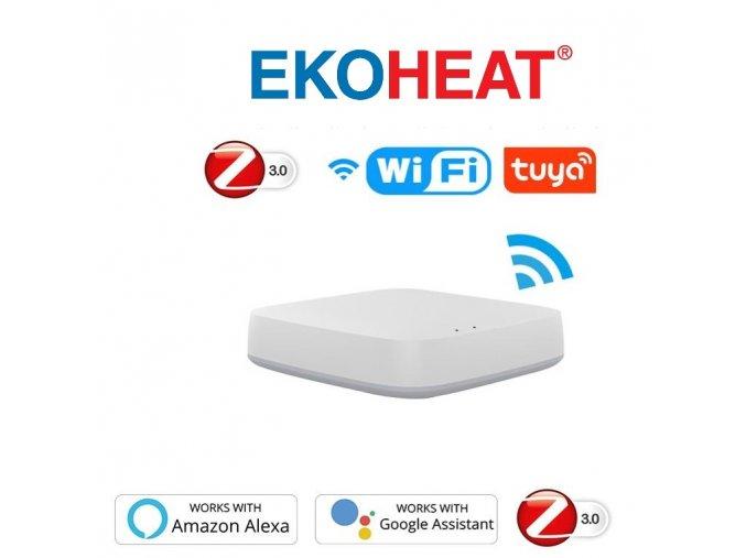EKOHEAT hlavice a Gateway Zigbee Wifi kopie kopie