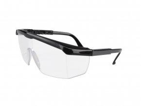 Brýle ochranné čiré, poloobruba