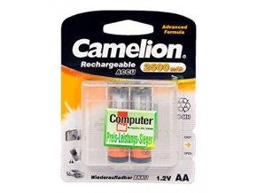 aa nabijeci baterie camelion nimh 2500mah 2 ks