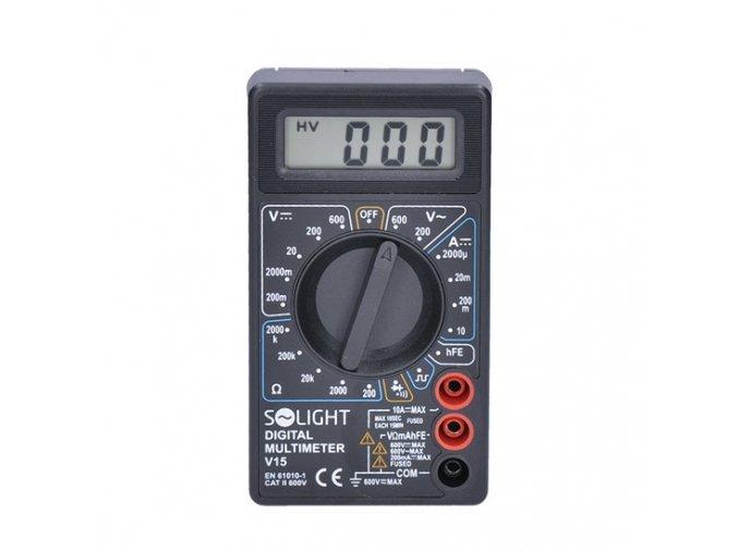 Multimetr digitální Solight V15 s akustickou signalizací Solight