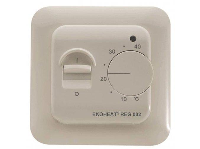 EKOHEAT REG 002 s nápisem
