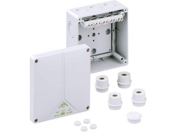 ABOX 100 10mm2 rozbočovací krabice IP65 81041001 Spelsberg CON