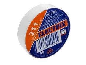 Izolační páska PVC 15mm 10m bílá
