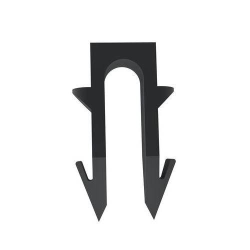 Fenix Příchytka kabelu/černá (BAL 60ks)