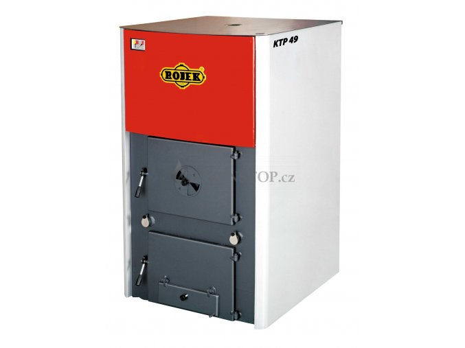 Rojek KTP 49 teplovodní kotel na tuhá paliva