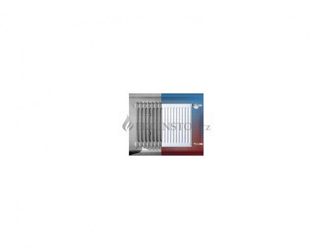 Korad R Typ 33-550/600 - 1133 W, rozteč 500 mm
