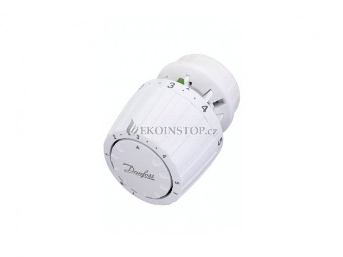 Danfoss RA 2000 termostatická hlavice s vestavěným čidlem, s možností plného uzavření