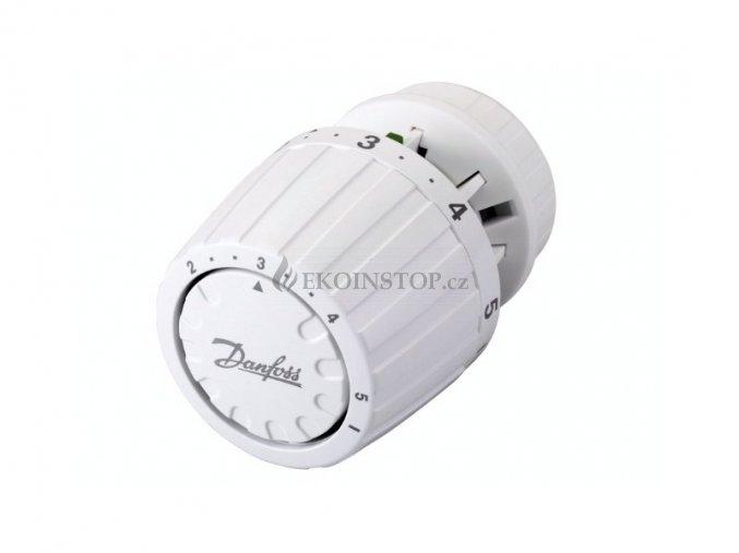 Danfoss RA 2000 termostatická hlavice s vestavěným čidlem, pojistka proti krádeži