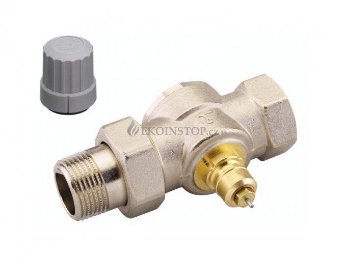 """Danfoss  RA-G 25 = 1"""" termostatický ventil přímý"""