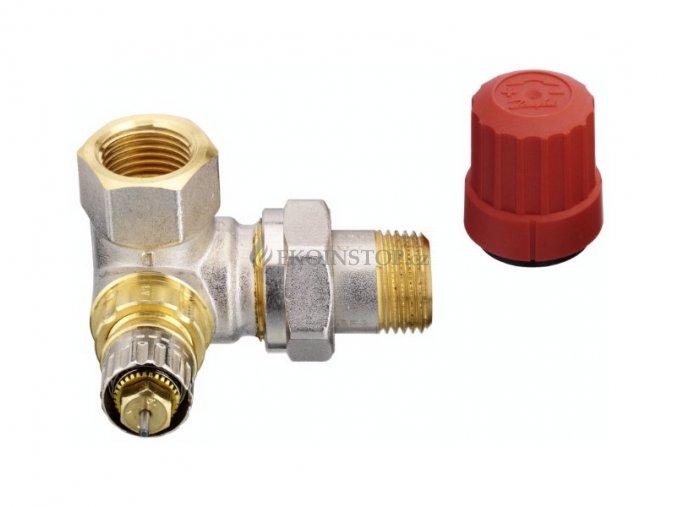 """Danfoss  RA-N 15 = 1/2"""" termostatický ventil úhlový pravý"""