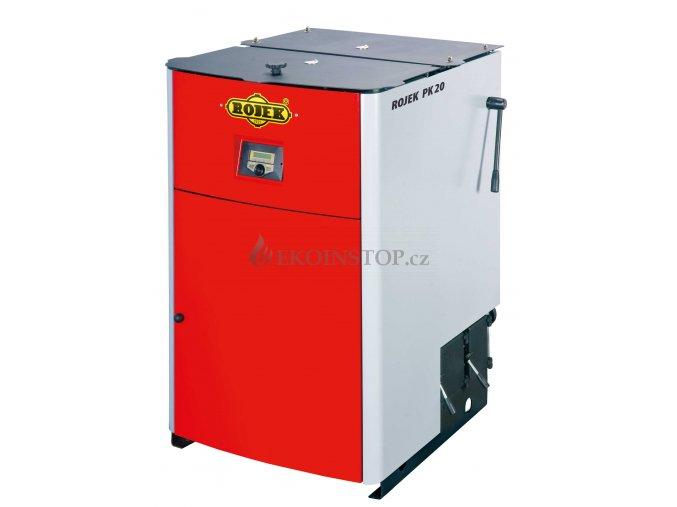 Rojek PK 20 pyrolytický teplovodní kotel na tuhá paliva - EKODESIGN