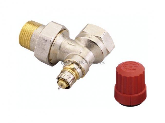 """Danfoss  RA-N 25 = 1"""" termostatický ventil rohový"""