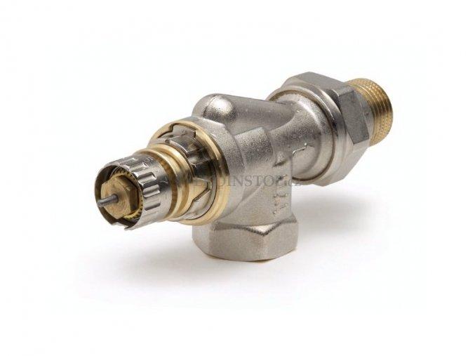 """Danfoss  RA-N 15 UK = 1/2"""" termostatický ventil úhlový"""