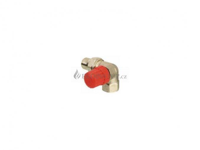 """Danfoss  RA-N 10 = 3/8"""" termostatický ventil úhlový pravý"""