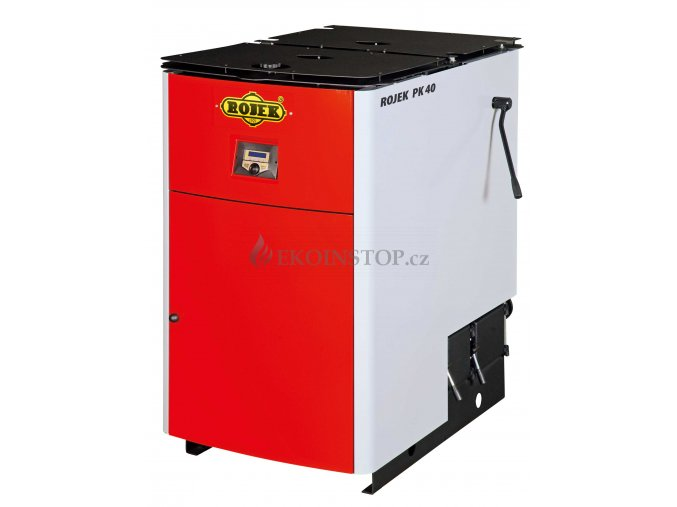 Rojek PK 40 pyrolytický teplovodní kotel na tuhá paliva