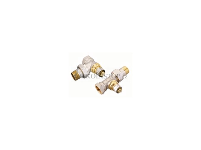 """Danfoss  RA-N 15 UK = 1/2"""" termostatický ventil UK externí závit"""