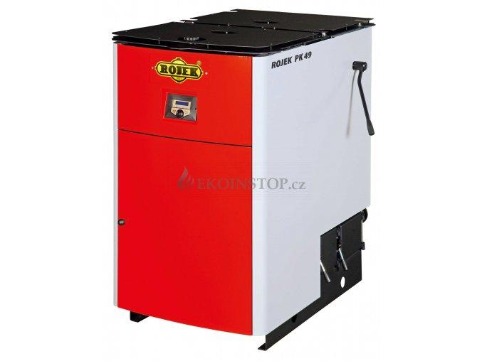 Rojek PK 49 pyrolytický teplovodní kotel na tuhá paliva
