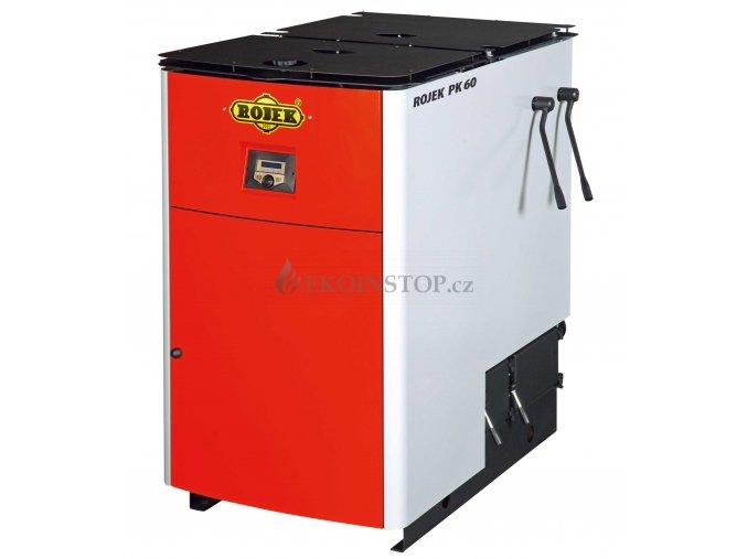 Rojek PK 60 pyrolytický teplovodní kotel na tuhá paliva