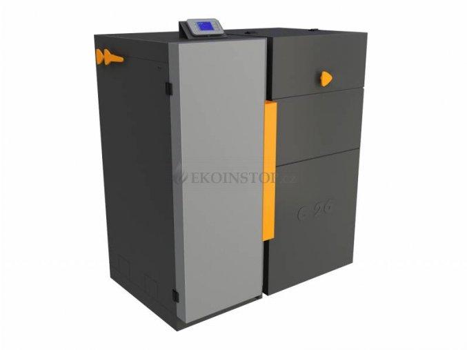 Benekov C 27 BIO Premium automatický kotel na uhlí - zásobník vpravo 114100501 emisní třída 5.