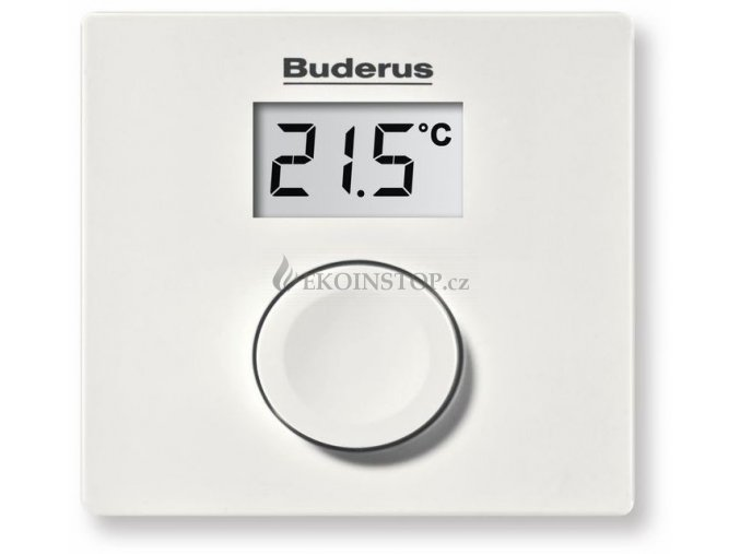 Buderus Logamatic RC 100 termostat prostorový