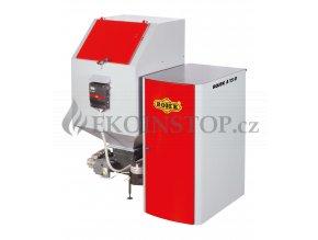 Rojek A 15 U automatický teplovodní kotel na tuhá paliva - zásobník vlevo - EKODESIGN Kód SVT 2454