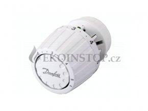 Danfoss RA 2000 termostatická hlavice s omezením nastavení teploty, vestavěné čidlo, pojistka proti krádeži