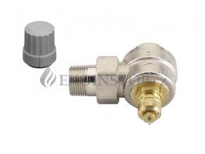 """Danfoss  RA-G 20 = 3/4"""" termostatický ventil rohový - pro samotížné systémy"""