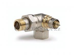 """Danfoss  RA-N 15 = 1/2"""" termostatický ventil úhlový pravý externí závit"""
