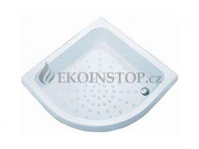 Sprchová vanička akrylátová čtvrtkruhová 90 x 90 cm Kolo Panda - R 550