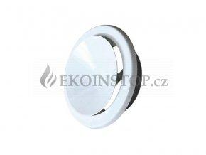 Ventilační talíř výfukový AN 200 mm bílá