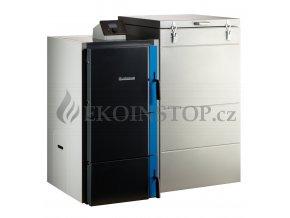 Buderus Logano S181.2-15 EP automatický kotel 15 kW - 5 emisní třída - Ekodesign, - Komplet sestava S181-15E+ST431+čerp+4c vent.+KSG