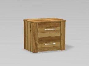noční stolek 2x zásuvka