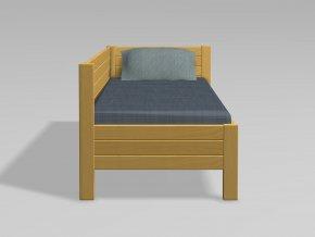 Rohová postel