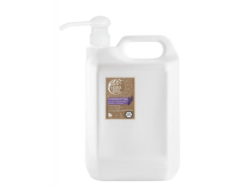 hygienicky gel na ruce levandule kanystr 5 l 01870 0001 bile samo w