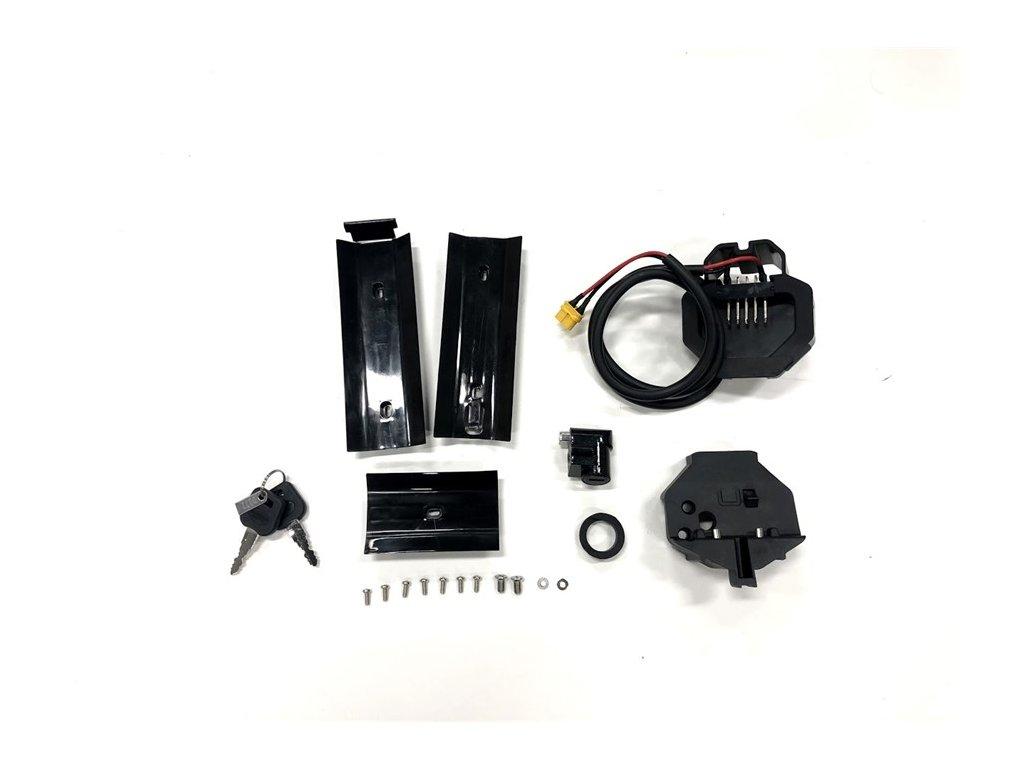 Držák plně integrované baterie bez tlačítka pro vyjmutí, modely 7.5, 8.5, 9.5, motor M500