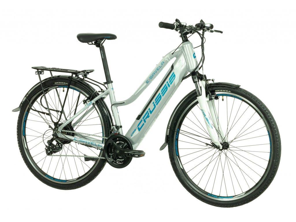 Crussis Dámsky trekový elektrobicykel e-Savela 1.7-S (2022)