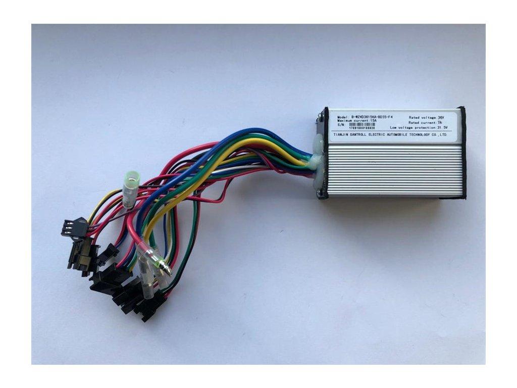 Řídící jednotka pro nosičovou baterii od e-City 1.7., 1.8, 2.3 a e-Country 1.7