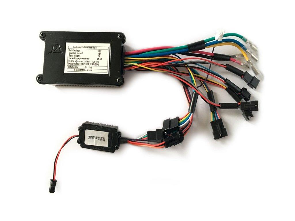 Řídící jednotka pro nosičovou baterii od City 1.5 + e-Savela/e-Gordo 1.2 a novější