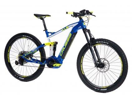 """Crussis Horský celoodpružený elektrobicykel e-Full 11.6 -18"""" (2021)"""