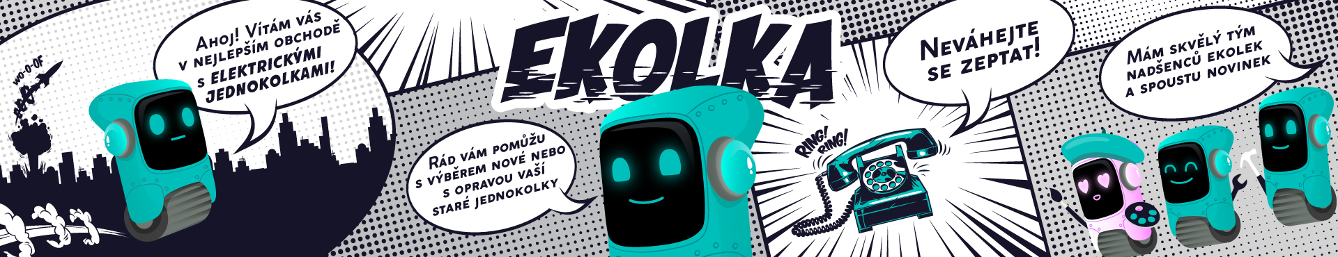 EKOLKA.CZ - Elektrické jednokolky KingSong, GotWay, Inmotion, Veteran, Ninebot