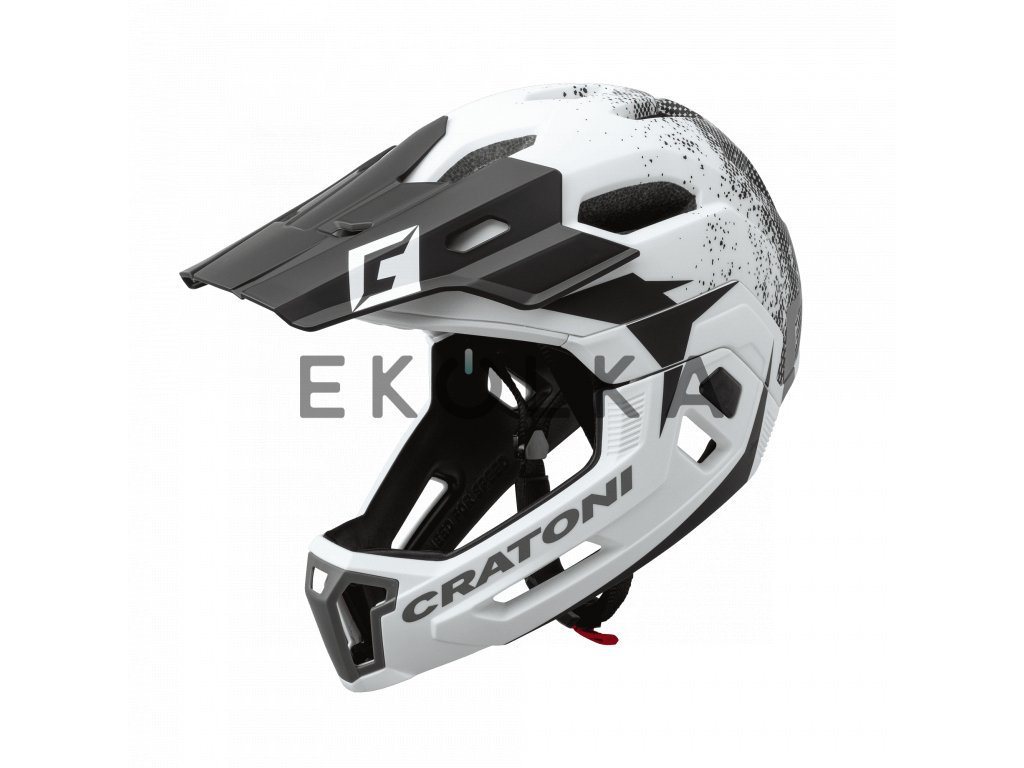 helm c maniac 2.0 white black