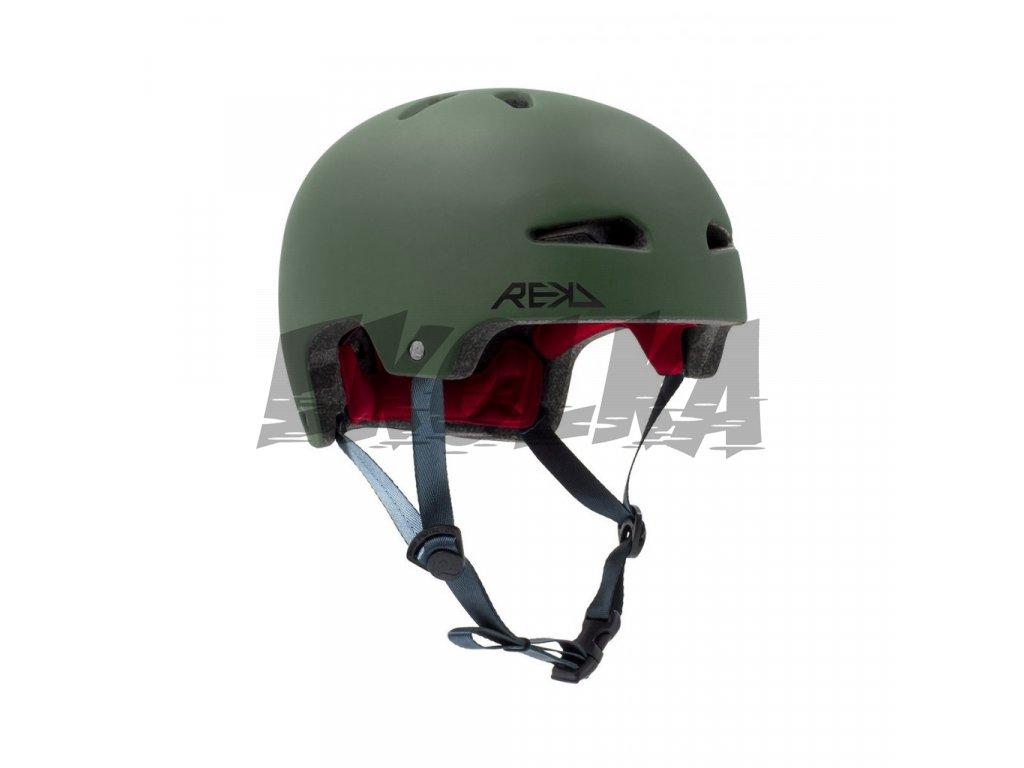 43391 rekd ultralite in mold green helma