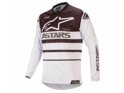 alpinestars racer supermatic jersey blwht 1