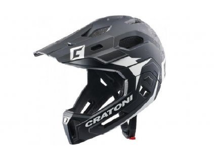 cratoni c maniac 2 0 mx black white matt v