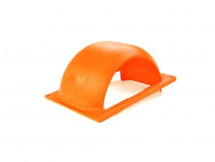 pint fluorescent orange