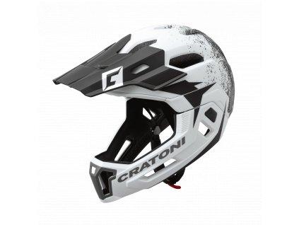 helm c maniac 2.0 white black