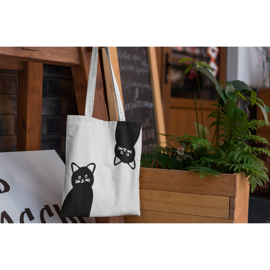 mockup of a tote bag hanging from a piece of furniture 3138 el1 (kopie)