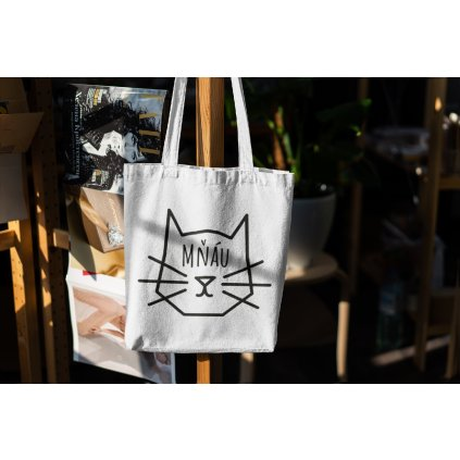 mockup of a canvas bag hanging from a wooden rack 3150 el1 (kopie)