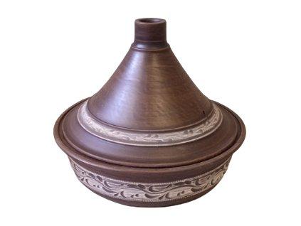 Hrnec keramický Tajine 2 5 L. rizna bela removebg preview